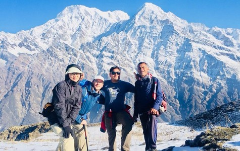 nepal trek ABC  2018 II